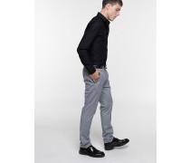 Hose aus Stretch-Baumwollgabardine