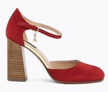 Mary-Jane-Schuhe aus Sämischleder