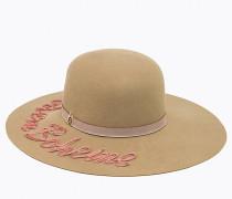 Hut aus Wollstoff