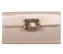 Clutch Flower Strass Buckle Enveloppe