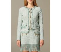 Jacke aus Baumwoll-tweed