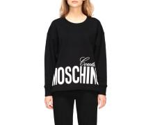 Sweatshirt mit Maxi Print