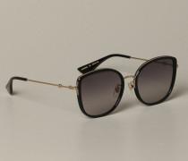 Acetat und Metall Brille