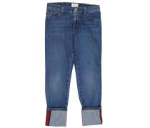 Jeans Mit Aufschlägen Und Used Effekt Web Details