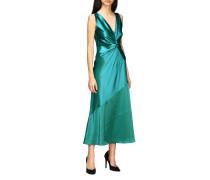 Langes Seiden Kleid