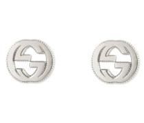 Schmuck Interlocking Ohrringe Gg Aus Silber