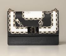 Mini Tasche mit Ketten Muster
