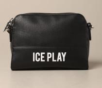 Tasche aus Kunstleder mit Logo