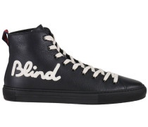 Sneakers Blind For Love High Top Mit Web Applikation