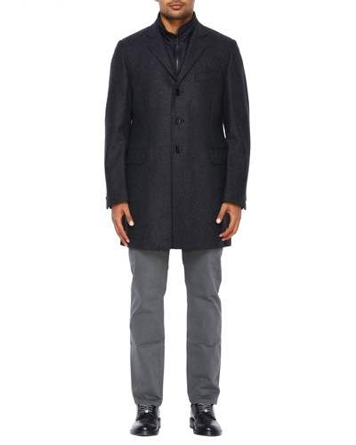 Klassischer Mantel aus Nylon