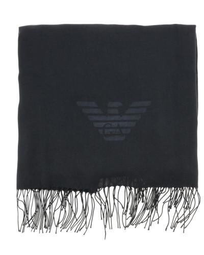 Schal aus Wolle mit Logo