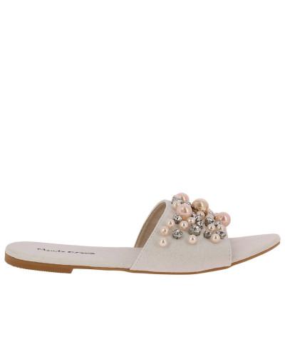 Manila Grace Damen Flache Sandalen Damen Gefälschte Online GtPVayOj