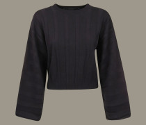 -pullover mit Ton-in-ton Streifen