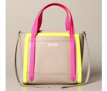 Tasche aus Synthetischem Color Block