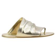 Arsella Flip Flops aus laminiertem Leder