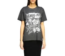 T-shirt mit Glam Club Print 1981