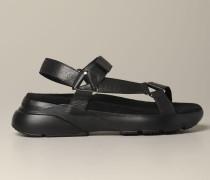 Leder Sandale mit Active Sohle