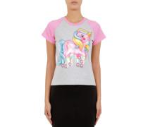 T-shirt My Little Pony Zweifarbiges Mit Druck Und Logo