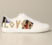 New Ace Leder Sneakers mit loved Patch