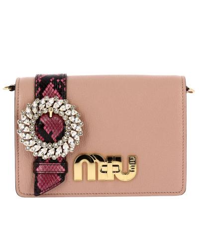 Miu Miu Damen Mini- Tasche Schultertasche Damen Freies Verschiffen Manchester Großer Verkauf Footaction Online 50g6edkCF