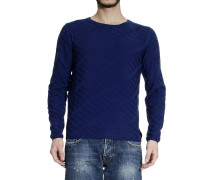 Pullover Roundneck Jaquard Geometric