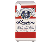Iphone X / XS Hülle Capsule Collection Moschino Budweiser