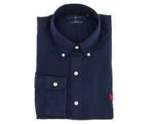 Hemd aus Baumwolle mit Button-Down-Kragen
