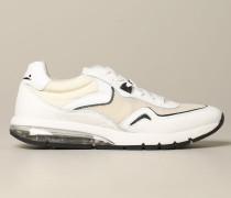 Sneakers aus Wildleder und Nylon