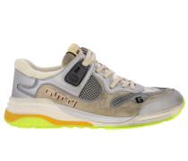 G Line Running Sneakers aus Echtem Veloursleder und Makronetz