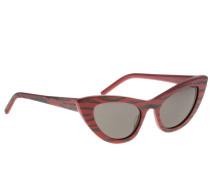 Sl213 Brille aus gestreiftem Acetat