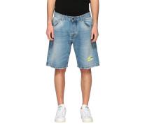 Jeans Shorts mit Rissen