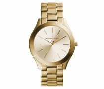 Armbanduhr - Slim Runway Gold-Tone Watch