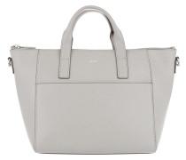 Grano Colorblocking Helena Handbag Light Grey Tote