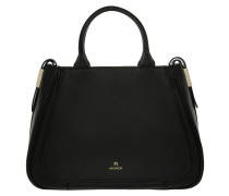 Vittoria M Handle Bag Black Tote