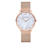 Uhr Watch Miss Ocean Line Pearl Mesh Strap