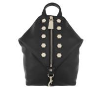 Crush Bag Backpack M Black Rucksack