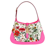 Hobo Bag Jackie Medium Flora Fuchsia
