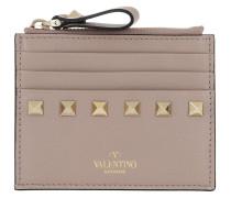 Portemonnaie VLTN Small Wallet Leather Rosé