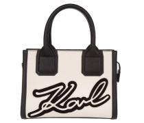 Holiday Mini Tote Black beige