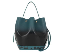 Beuteltasche Milano Patent Drawstring Bag Mini Black Gradient