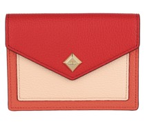 Portemonnaie Love Letter Mini Wallet Leather Red