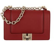 Mini Roberta Shoulder Bag Evolution Rosso Umhängetasche