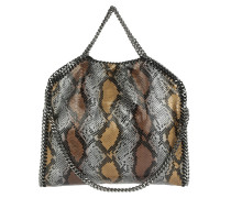 Falabella Shaggy Deer Small Tote Snake Bronze gold