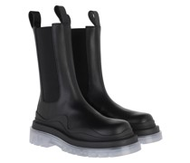 Boots Tire Boot Leather Black Blue
