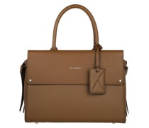 Tote K/Ikon Medium Top Handle Noisette