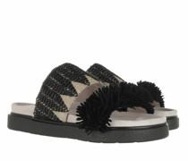 Slipper & Pantoletten Raffia Sandals