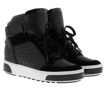 Pia High Top Sneaker Black