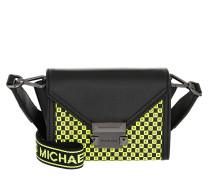 Umhängetasche Whitney Xs Belt Bag Black/Neon Yellow schwarz