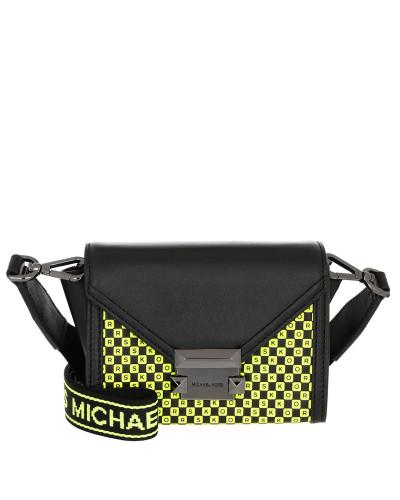Umhängetasche Whitney Xs Belt Bag Black/Neon Yellow