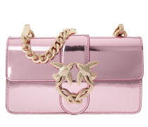 Love Shiny Shoulder Bag Mini Pink Umhängetasche